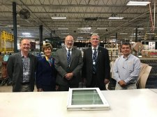 Erie Mayor Visits Seaway Manufacturing